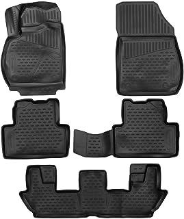 Walser XTR Tapetes de Goma Alfombrillas para Coche Compatible con Opel Zafira Tourer C 7 Asientos A/ño de fabricaci/ón 2012 Hoy