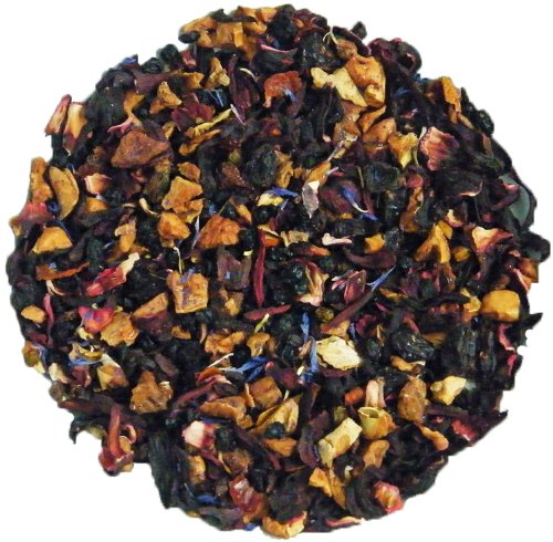 Simpli-Special Yummy Berry Caffeine-Free Loose Leaf Herbal Fruit Premium Blend for Hot or Iced Tea All Natural (100g in resealable Pouch)