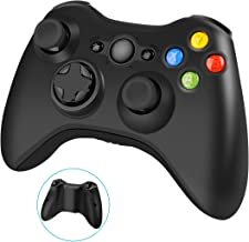 $24 » Wireless Controller for Xbox 360, 2.4GHZ Joystick Wireless Game Controller for Microsoft Xbox 360 Slim Console and PC Windows 7,8,10 (Black)