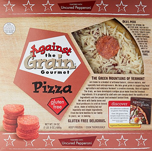 Against The Grain, Pepperoni Pizza, 24 Ounce