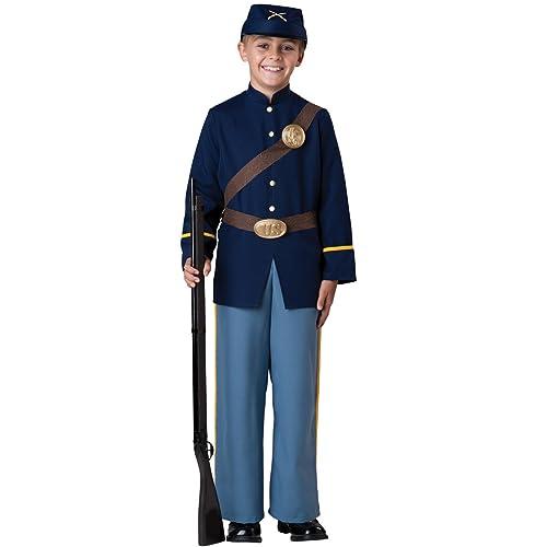 ea6cb2f4780ab InCharacter Costumes Civil War Soldier Costume, Size 8/Medium
