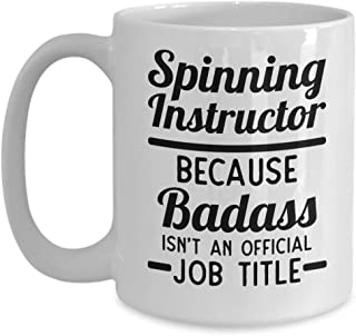 Spin Instructor Mug | Gift | Spin Class | Fitness Coach | Spinning Teacher | Love To Spin | Spin Cup | Spin Aerobics | Badass