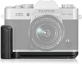 Meike XT20G Aluminum Alloy Hand Grip Quick Release Plate L Bracket for Fujifilm X-T30 X-T20 X-T10