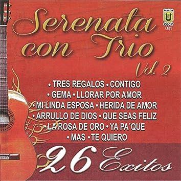 Serenata con Trío, vol. 2 (26 Exitos)