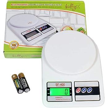 Bulfyss Electronic Kitchen Digital Weighing Scale Multipurpose 10 Kg - (1 Year Warranty)