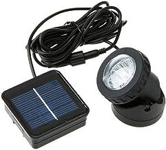 6 LED Solar Powered Outdoor Garden Landscape Yard Spot Light Lawn Lamp Spotlight