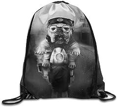 Bright Icons Drawstring Bag Waterproof Backpack Shopping zak Bags Unisex