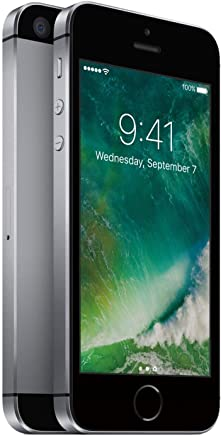 Apple iPhone SE Gris Espacial 16 GB (Renewed)