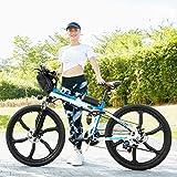 Zoom IMG-1 vivi bicicletta elettrica pieghevole 26