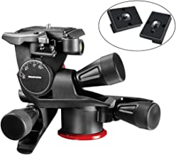 Manfrotto MHXPRO-3WG XPRO Geared Head Includes Two ZAYKiR Quick Release Plates