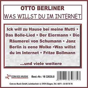 Was willst du im Internet