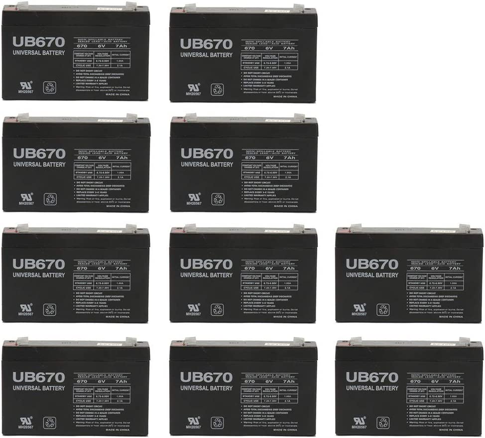 Universal Power Group 6V 7Ah Replaces Battery Ranking mart TOP10 Exide 153-302-008
