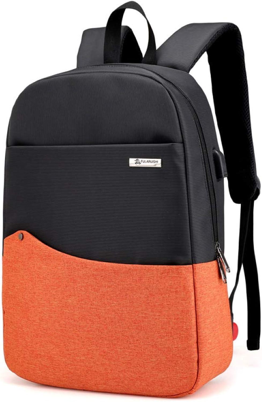 QJKai Men's Backpack Casual Computer Bag Travel Backpack College Student Bag