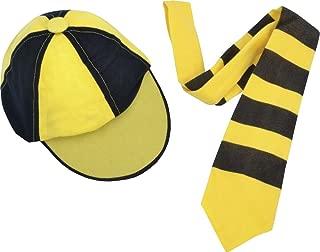 Children Fancy Dress Party Kids Book Week Day Schoolboy Uniform Set Hat & Tie