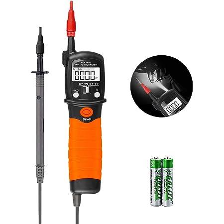 Auto Range Voltage Meter Ut18c Lcd Led Detektor Digital Multimeter Durchgang Rcd Tester Mit Lcd Anzeige Baumarkt