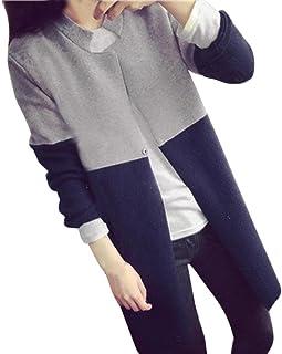 comprar comparacion Overdose Chaquetas Largas para Mujer De Invierno Nueva OtoñO CáLido Slim Ladies Outwear Top Cardigan Tops Blusa