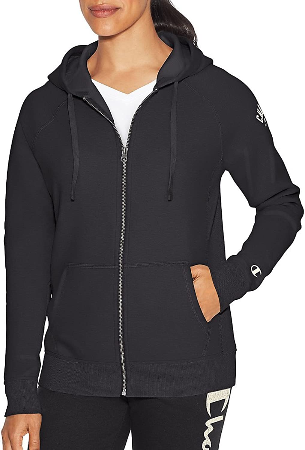 Champion Womens Heritage Fleece Full Zip Hoodie