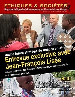 Magazine Éthiques et Sociétés - Numéro 16 (French Edition)