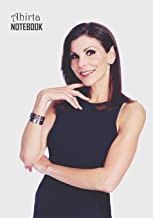 Notebook: Heather Dubrow Medium College Ruled Notebook 129 pages Lined 7 x 10 in (17.78 x 25.4 cm)