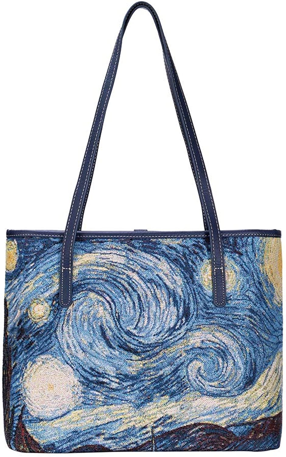 Signare Tapestry Collection of Vincent Van Gogh Starry Night Fashion Bags