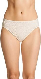Jockey Women's Underwear No Ride Up Lace Hi Cut Brief