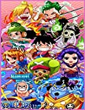 ONE PIECE: COLORING BOOK Anime Coloring Books for kids and adults