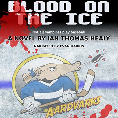 Blood on the Ice audiobook cover art