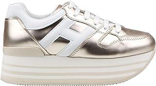 Oro Sneaker H222 in pelle dorata Hogan sneakers Donna