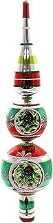 Shiny Brite Holiday Splendor Finial. Glass Tree Topper Reflector 4027579