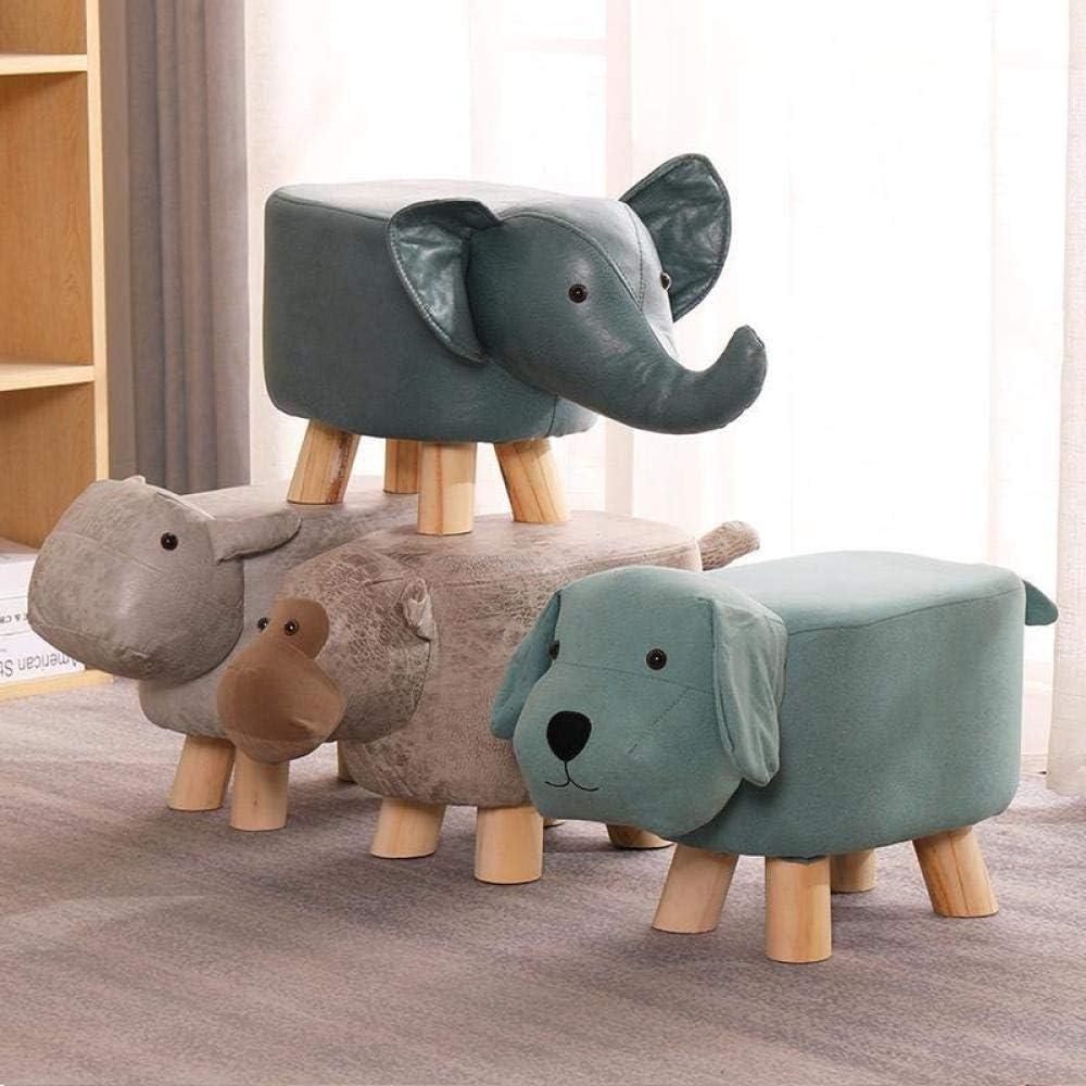 ZHTY Repose-Pieds en Forme d'animal Chaise rembourrée siège de Repos canapé Chaise avec Pieds Solides Soutien Tabouret décoratif pour n'importe Quelle pièce Puppy