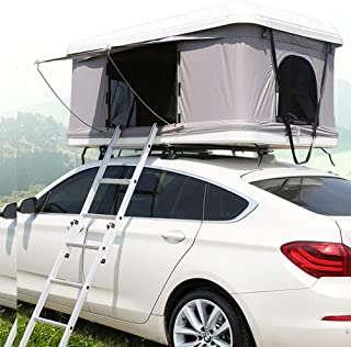 XPHW Utomhus camping taktält ABS bil taktält, lämpligt för 2–3 personer bil automatisk off-road SUV självkörande tur