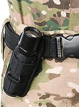 Breale 360 graden draaibare zaklamp clip zak holster tactische Molle LED fakkel houder riem draagtas voor outdoor jacht ca...