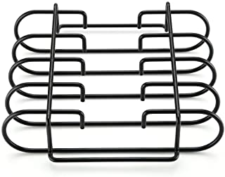 soldbbq Roasting/Rib Rack-Non-Stick-Outdoor Grill BBQ Accessories(Compatible for Brinkmann 812-9236-S), Porcelain Coated Steel, Dimensions: 10