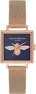 Olivia Burton Womens Analogue Quartz Watch with Stainless Steel Strap OB16AM96