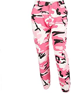 Women Pants Autumn Fashion Sports Camo Cargo Pants Outdoor Casual Camouflage Trousers Jeans