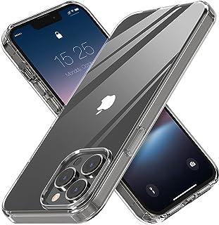 MATEPROX متوافق مع iPhone 13 Pro Max غطاء هاتف شفاف شفاف غير أصفر رقيق مضاد للصدمات لآيفون 13 برو ماكس 6.7 بوصة 2021 (شفاف)
