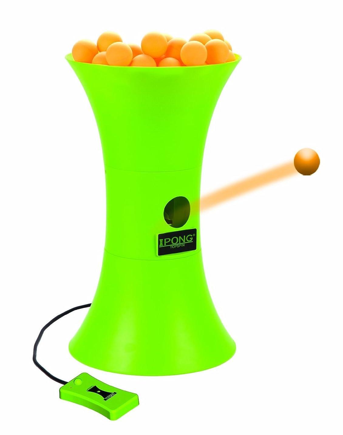 レタス雷雨そうi Pong アイポン トップスピン 自動卓球マシン【並行輸入品】