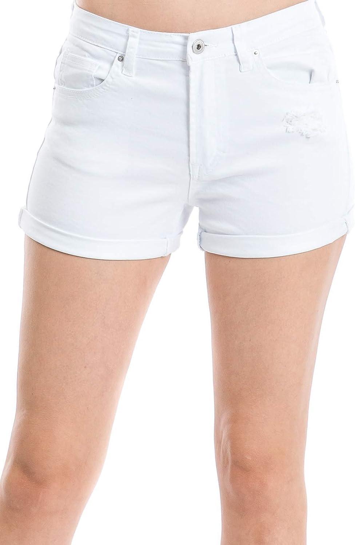 Urban Look Women's Body Enhancing Denim Shorts