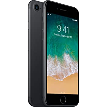 Apple iPhone 7 Matte Black 32GB Verizon Unlocked (Renewed)