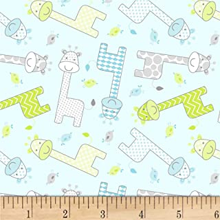 nursery cotton fabric by the yard