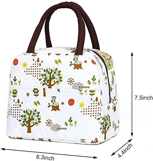 Rlloy Pranzo al Sacco in Lega Impermeabile Tote Bag Isolato Portatile di stoccaggio Bento Bag Cooler//Thermal Picnic Lunch Bag per la Scuola di Lavoro Picnic