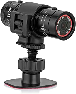 Mengshen Full HD 1080P Mini Sports DV Camera Bike Motorcycle Helmet Action DVR Video Cam Perfect for Outdoor Sports MS-F9