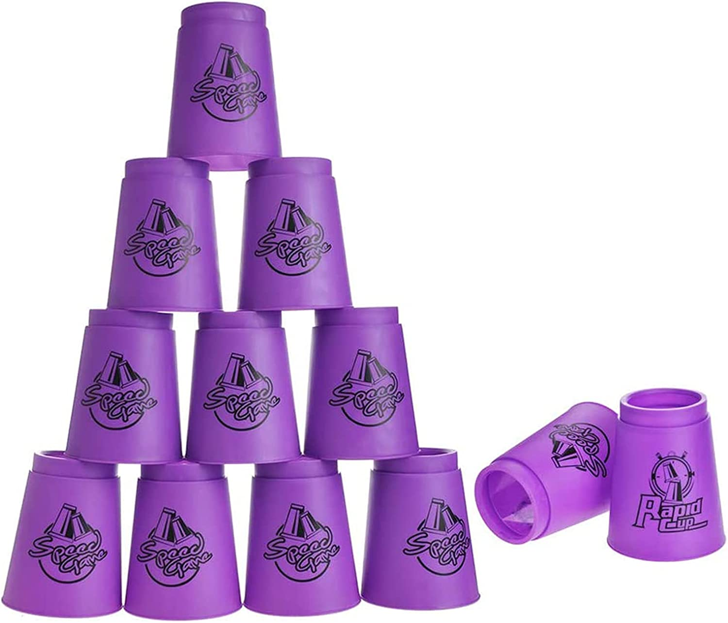 Upgrade Max 62% OFF Quick Stacks Cups 12 Cheap super special price Stacking Sports Speed PC of