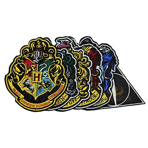 Set de 6 - Deluxe - Casas de Hogwarts + Las Reliquias de la Muerte