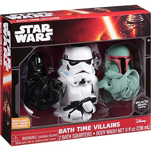 Disney Star Wars Galactic Raisin parfumée de Bain Temps méchants Ensemble Cadeau, 3 PC
