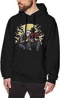 Jason Voorhees Men's Long Sleeve Hoodie Pullover Autumn Fashion Pattern Print Sweatshirt