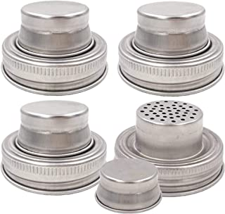 Best mason jar cocktail shaker lid only Reviews