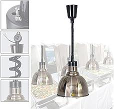 DevileLover Lampe chauffante pour Buffet,Lampe Chauffe-Plats Rétractable Lampe Suspension Vintage Lustre Cuisine,Gardez Le...