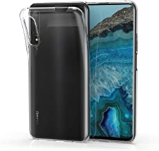 kwmobile Crystal Case Compatible with Huawei Y9s - Soft Flexible TPU Silicone Protective Cover - Transparent