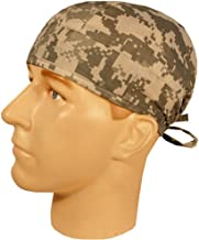 Generic Merchandise USA Made Digital ACU Camo Camouflage Medical Surgical Scrub Cap Sweatband Ties Doctor Nurse Vet Aid